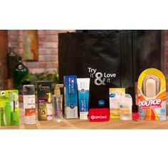 Prize: Procter & Gamble Gift Bag with $50 Target Gift Card