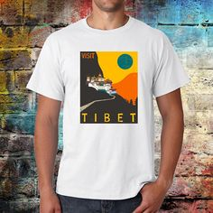 Check out this item in my Etsy shop https://www.etsy.com/uk/listing/520041518/tibet-t-shirt-buddhist-t-shirt-mount