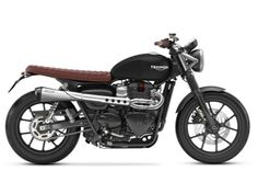 Triumph 2016 Street Twin Cranberry Red