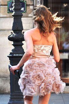 running in heels- Paris
