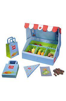 HABA - Erfinder für Kinder - Kaufladen Gutes Gemüse - Kaufladenausstattung - Kaufladen - Spielzeug & Möbel