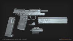ArtStation - FNP 45 Tactical, Nam Nguyen