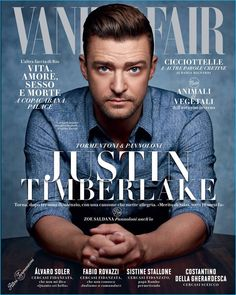 #JustinTimberlake covers the August 2016 issue of Vanity Fair Italia.