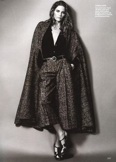 Creature Comforts: Frankie Rayder in Michael Kors for Allure magazine by Terry Tsiolis
