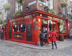 Temple Bar en Dublín, Irlanda - Foto: @mundukos
