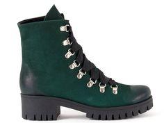 Zielone botki - AKARDO.pl - Porządne buty robione w Polsce Hiking Boots, Shoes, Fashion, Walking Boots, Moda, Zapatos, Shoes Outlet, Fasion, Shoe