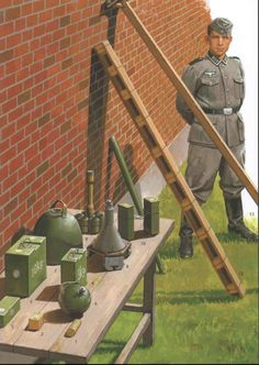 German Assault Engineer Equipment