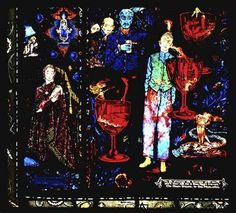 """""""A panel from Harry Clarke's gorgeous stained glass window, completed in Disney Christmas Parade, Disneyland Parade, Disney Fireworks, Harry Clarke, Irish Art, Arts And Crafts Movement, Dark Beauty, Surreal Art, Stained Glass Windows"""