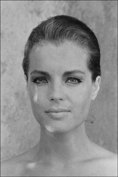 Romy Schneider on of the most beautiful screen actresses.