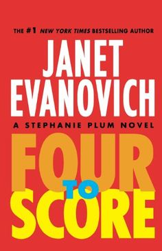 Four to Score (Stephanie Plum Novels) by Janet Evanovich,http://www.amazon.com/dp/0312675097/ref=cm_sw_r_pi_dp_0tDmsb1W8MR52J5N
