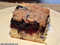 Blueberry Buckle -  The_Cookin_Chicks