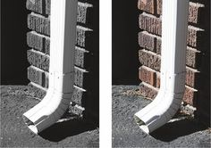 Letter Photography | Letter J | Downspout