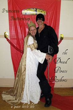 princess bride couple costume