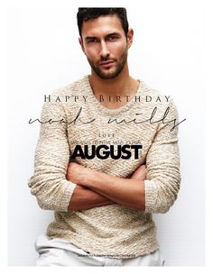 Happy Birthday NoahMills