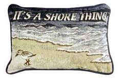 It's A Shore Thing Decorative Tapestry Pillow