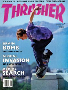 Cover: Danny Sargent – Nosepick Photo: Thatcher Inside This Mag: An interview with Tom Groholski, skating in Minneapolis and a guide to skating the gl. Aesthetic Images, Aesthetic Collage, Retro Aesthetic, Bedroom Wall Collage, Photo Wall Collage, Picture Wall, Room Posters, Poster Wall, Poster Prints