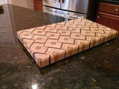Another Sinister Inspired End-Grain Cutting Board