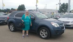 Judi's new 2011 CHEVROLET EQUINOX! Congratulations and best wishes from Kunes Country Ford Lincoln of Delavan and DEANNA KLOSTERMAN.