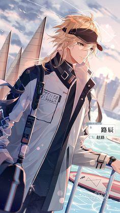 Garçon Anime Hot, Cool Anime Guys, Handsome Anime Guys, Manga Boy, Manga Anime, Anime Art, Anime Boy Hair, Anime Galaxy, Blonde Guys