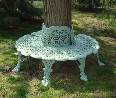 Tree Benches On Pinterest Tree Bench Tree Seat And Benches