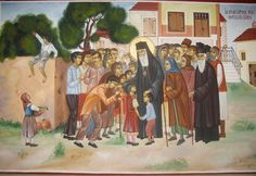 Byzantine Icons, Orthodox Christianity, Orthodox Icons, Greece Travel, Saints, Painting, Ph, Santos, Painting Art