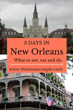 Planning a trip to New Orlean? Great idea! New Orleans is a city of food, fun, and intrigue. Let us show you what to see, eat, and do during your time in New Orleans. #neworleans #visitneworleans #visitneworleans