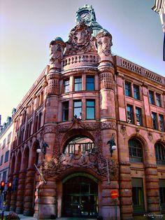 Rosenbad Building, Stockholm, Sweden