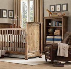 Carleton Leather Recliner | Nursery Seating | Restoration Hardware Baby & Child