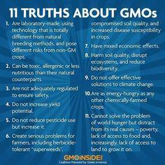 #GMO / hazardous to your health? Become informed.