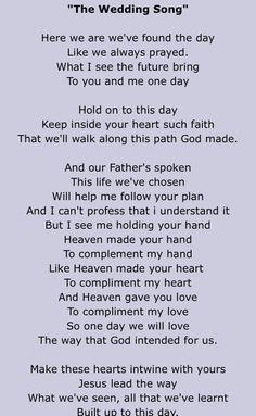 The Wedding Song- Matthew Mole                                                                                                                                                                                 More