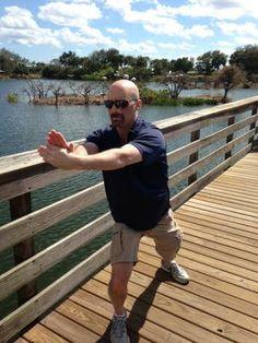 Taiji (T'ai Chi)...boardwalk style.