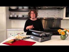 Cuisinart Griddler® Deluxe (GR-150) Demo Video - YouTube