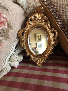 Italian Florentine Wood Gold Ornate Mirror by FrenchCountryGirl on Etsy