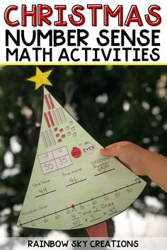 Need an engaging, printable resource to teach number sense and foundational math skills during the holiday season? Try the Christmas Number of the Day in your 1st grade, 2nd grade, or 3rd grade math centers or small groups! This no-prep, math resource practices important math skills such as counting base ten blocks, recognizing ordinal numbers, and more! Number Sense Activities, Kids Learning Activities, Fun Learning, Teaching Ideas, Math Rotations, Math Centers, 3rd Grade Math, Grade 3, Math Skills