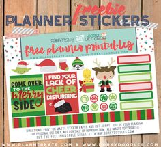 Free Printable Star Hero's Planner Stickers from Dorky Doodles