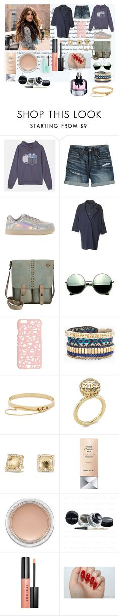 """All about that bass."" by it-srabina ❤ liked on Polyvore featuring Pusheen, Canvas by Lands' End, Wize & Ope, Patricia Nash, Revo, Miss Selfridge, Stella & Dot, Eddie Borgo, David Yurman and Givenchy"