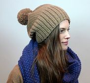 A chunky knit toque that looks amazing on everyone. It knits up quickly and makes a thoughtful gift. Now available as a free pattern on Canadian Living!