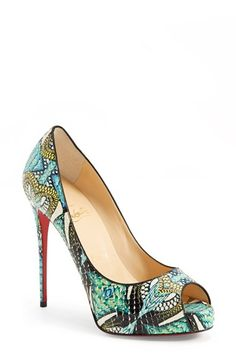 469081280011 Gorgeous shoes! What s your favorite style of heel  Check out  high heels   . Christian Louboutin ...