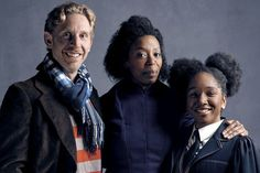 Ron, Hermione, and Rose.