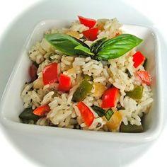 Sweet Bell Pepper Rice - Allrecipes.com