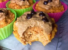 Food Fitness by Paige: Salted Caramel Pumpkin Muffins
