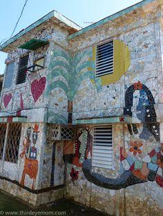 Fusterlandia Mosaic Home in Havana #Cuba