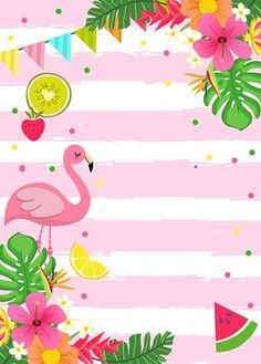 Best 11 The Flamingo invitation is a beautiful option to make the guests even more enthusiastic about the flamingo party or tropical party Flamingo Party, Flamingo Birthday, Invitation Fete, Pool Party Invitations, Invitation Templates, Summer Party Invites, Invitation Ideas, Aloha Party