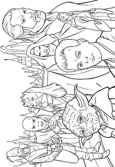 Star Wars - 999 Coloring Pages