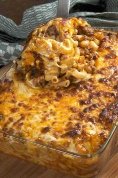 Recipe for Cheesy Hamburger Casserole – Just as easy to make as Hamburger Helper and you can control the ingredients. Great weekday meal and the kids love it! [amd-zlrecipe-recipe:1051] Photo…
