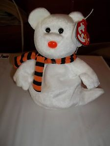 "2003 TY Beanie Baby ""Quivers"" - Halloween Bear - NWT Born Oct. 21 2002"