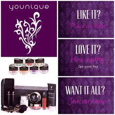 Care to join us....unete al grupo de presentadoras Younique, escribeme para mas detalles....quieres productos gratis? escribeme para los detalles...