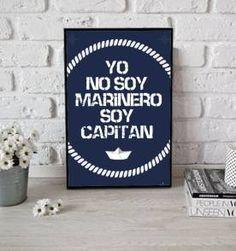 poster soy capitan - 30x40cm