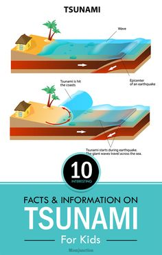 10 Interesting Facts And Information On Tsunami For Kids