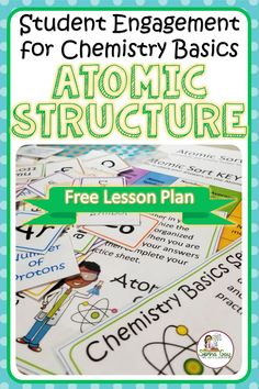 Engage your Chemistry or Physical Science students with this FREE card sort exploring atomic structure. Engage your Chemistry or Physical Science students with this FREE card sort exploring atomic structure. Kid Science, Physical Science Projects, High School Science Projects, Elementary Science Experiments, Preschool Science Activities, Science Student, Science Lessons, Science Jokes, Science Space